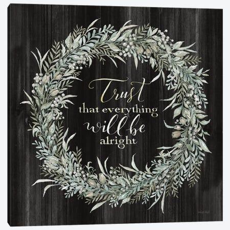 Trust Wreath Canvas Print #CJA329} by Cindy Jacobs Canvas Art