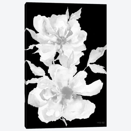 Black & White Flowers I Canvas Print #CJA332} by Cindy Jacobs Canvas Print