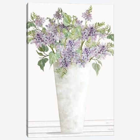 Lilacs I Canvas Print #CJA348} by Cindy Jacobs Canvas Art