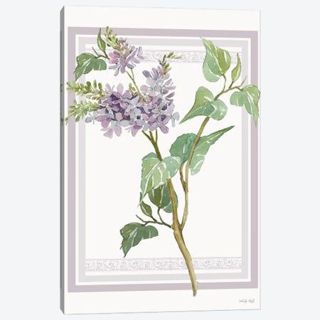 Lilacs V Canvas Print #CJA352} by Cindy Jacobs Art Print