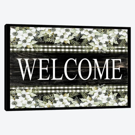 Welcome Canvas Print #CJA360} by Cindy Jacobs Canvas Wall Art