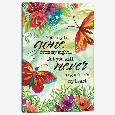 Never Gone from My Heart I Canvas Print #CJA400} by Cindy Jacobs Canvas Print