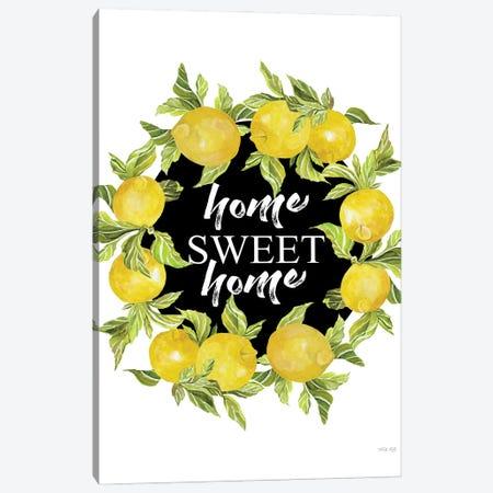 Home Sweet Home Lemons Canvas Print #CJA455} by Cindy Jacobs Art Print