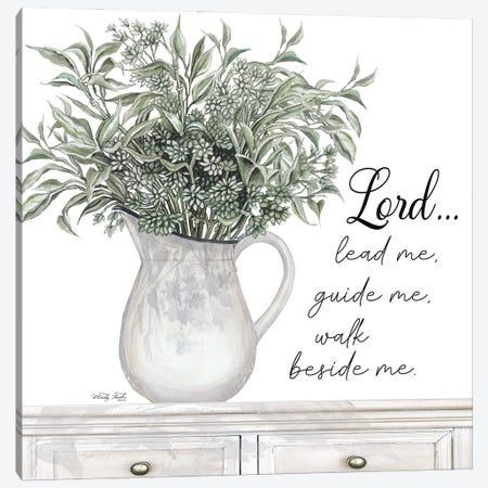 Lord Lead Me Canvas Print #CJA461} by Cindy Jacobs Art Print