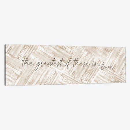 The Greatest Of These Is Love Canvas Print #CJA467} by Cindy Jacobs Canvas Wall Art