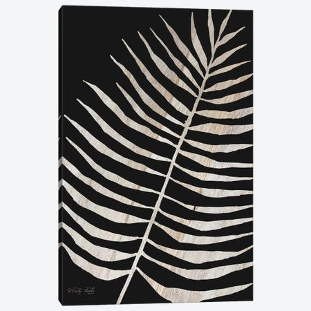 Palm Frond Wood Grain I Canvas Print #CJA55} by Cindy Jacobs Canvas Wall Art