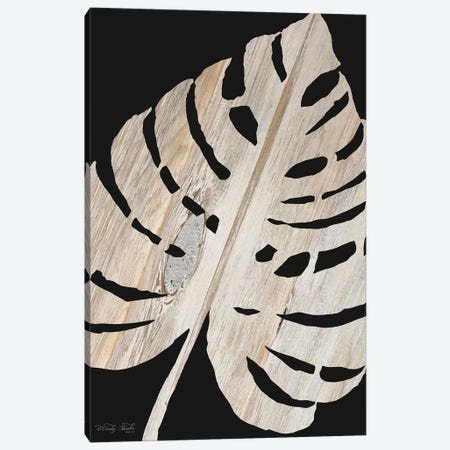 Palm Frond Wood Grain III Canvas Print #CJA57} by Cindy Jacobs Canvas Artwork