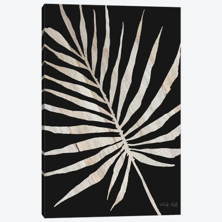 Palm Frond Wood Grain IV Canvas Print #CJA58} by Cindy Jacobs Canvas Art Print