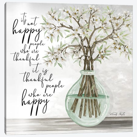 Thankful People Canvas Print #CJA60} by Cindy Jacobs Canvas Artwork
