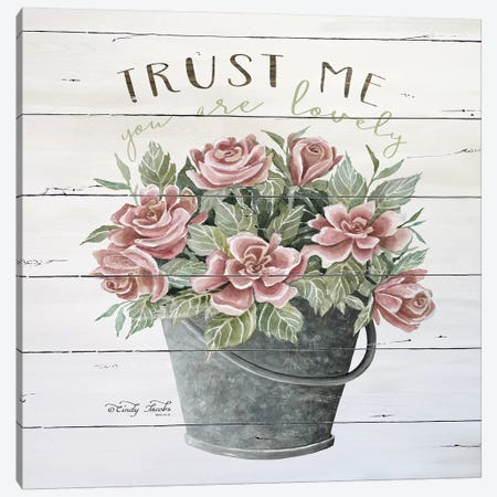 Trust Me Canvas Print #CJA63} by Cindy Jacobs Canvas Art