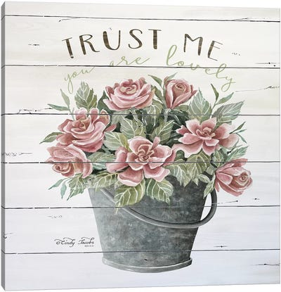 Trust Me Canvas Art Print