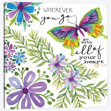 Wherever You Go 3-Piece Canvas #CJA65} by Cindy Jacobs Canvas Print