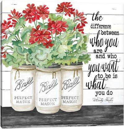 White Jars - What You Do Canvas Art Print