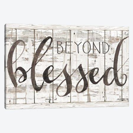 Beyond Blessed I Canvas Print #CJA71} by Cindy Jacobs Canvas Print