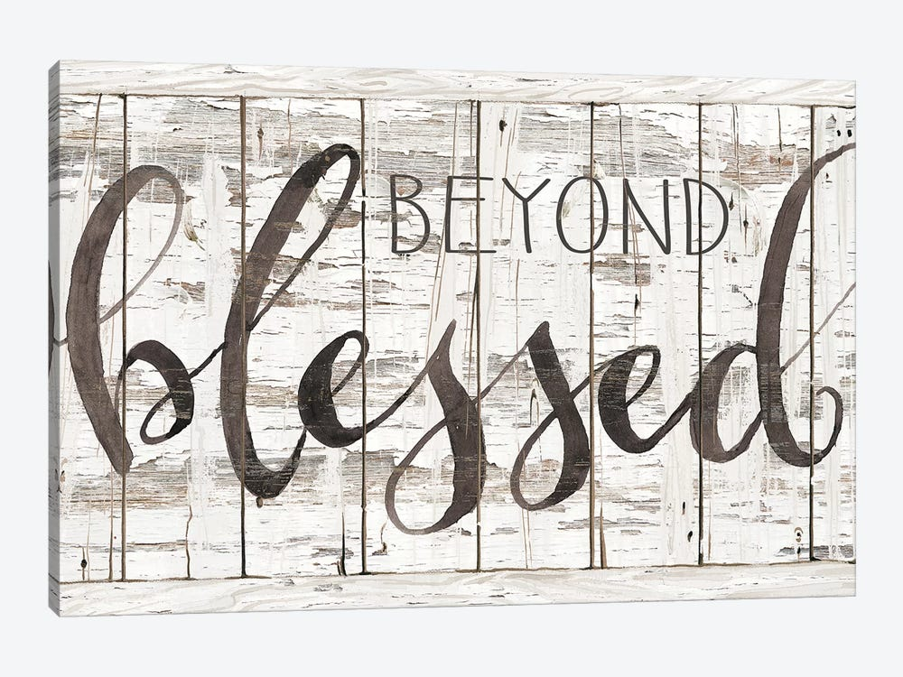Beyond Blessed I by Cindy Jacobs 1-piece Art Print
