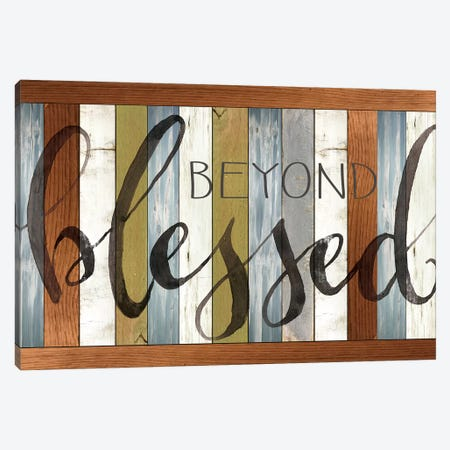 Beyond Blessed II 3-Piece Canvas #CJA72} by Cindy Jacobs Canvas Art Print