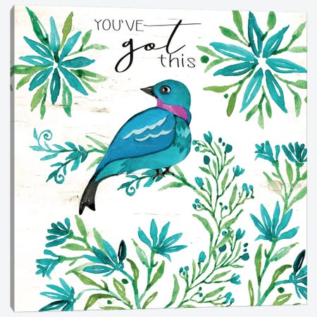 You've Got This Canvas Print #CJA74} by Cindy Jacobs Canvas Wall Art