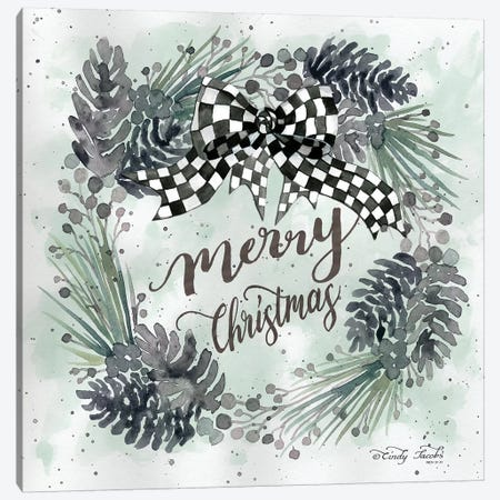 Merry Christmas    Canvas Print #CJA85} by Cindy Jacobs Art Print