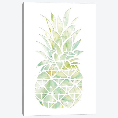 Pineapple Canvas Print #CJA89} by Cindy Jacobs Canvas Wall Art