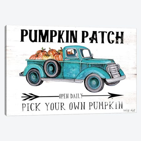 Pumpkin Patch Open Daily Canvas Print #CJA90} by Cindy Jacobs Canvas Art Print