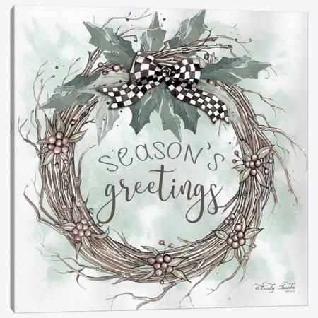 Season's Greetings  Canvas Print #CJA92} by Cindy Jacobs Canvas Art Print