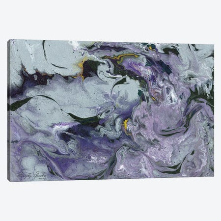 Abstract in Purple IV Canvas Print #CJA9} by Cindy Jacobs Canvas Art