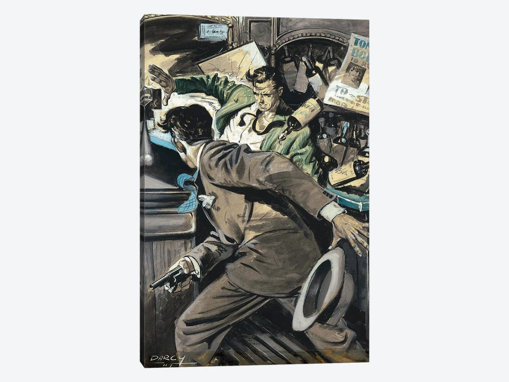 Detective III by Ernest Chiriacka 1-piece Canvas Wall Art