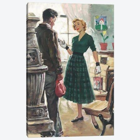 Detective X Canvas Print #CKA17} by Ernest Chiriacka Canvas Art Print