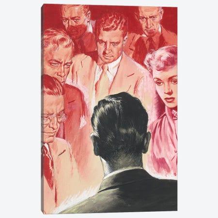 Detective XI Canvas Print #CKA18} by Ernest Chiriacka Canvas Art