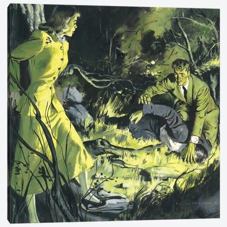 Detective XII Canvas Print #CKA19} by Ernest Chiriacka Canvas Artwork