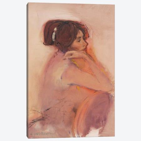 Girl Canvas Print #CKA24} by Ernest Chiriacka Canvas Wall Art