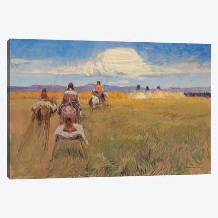 Headed Home Canvas Print #CKA26} by Ernest Chiriacka Canvas Artwork