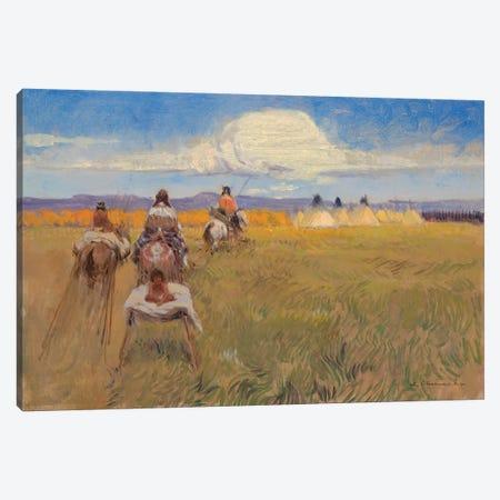 Headed Home Canvas Print #CKA26} by Ernest Chiriacka Canvas Artwork