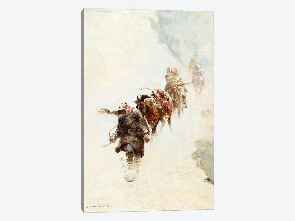 Mountain Trappers by Ernest Chiriacka 1-piece Canvas Wall Art