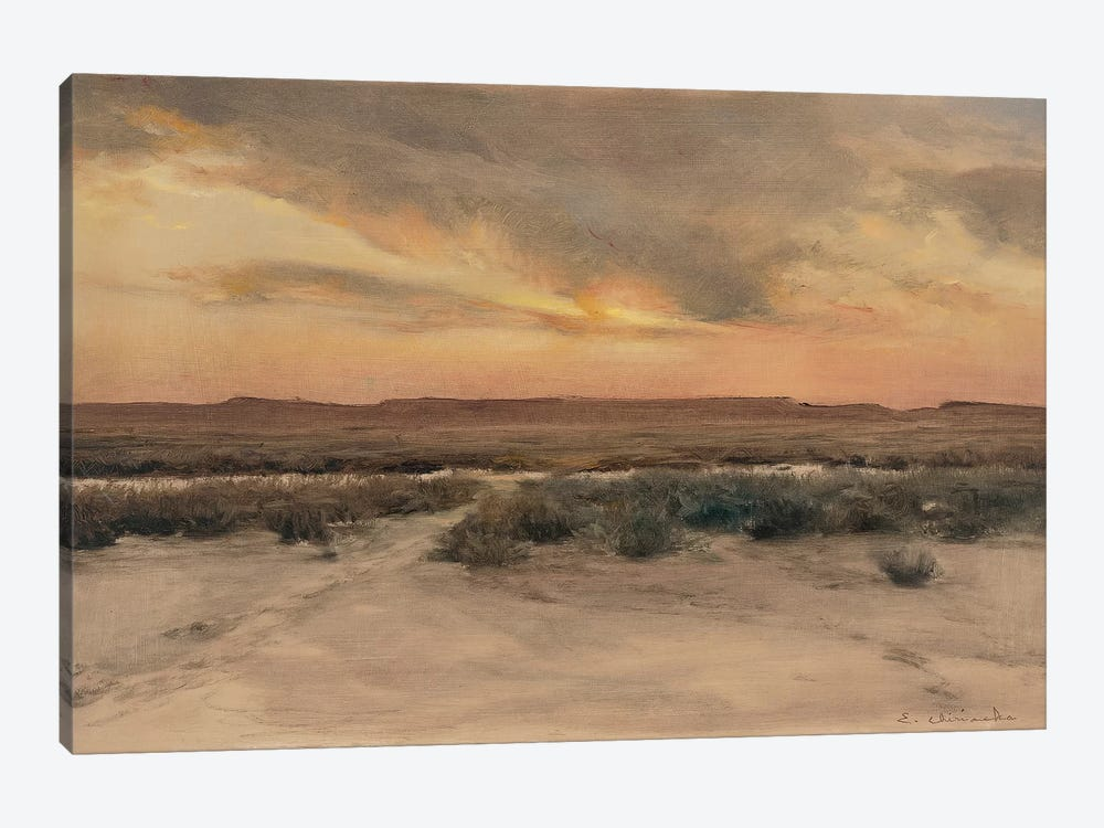 New Mexico Mesa by Ernest Chiriacka 1-piece Canvas Print