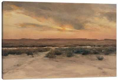 New Mexico Mesa Canvas Art Print