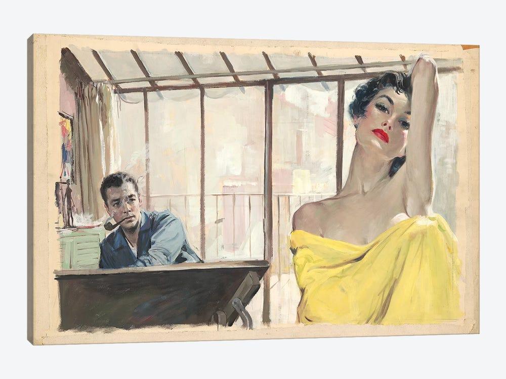 Posing by Ernest Chiriacka 1-piece Canvas Artwork