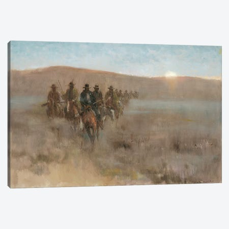 Posse I Canvas Print #CKA46} by Ernest Chiriacka Canvas Art
