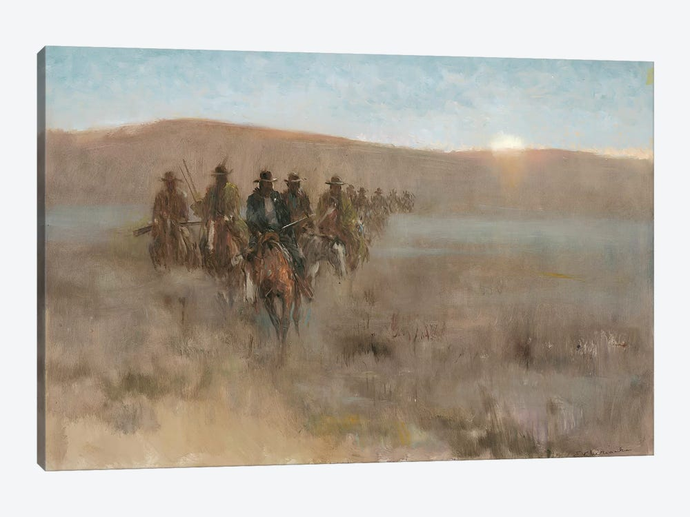 Posse I by Ernest Chiriacka 1-piece Canvas Art Print