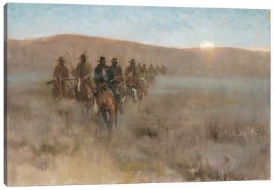 Posse I Canvas Art Print