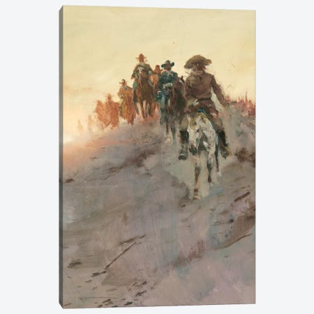 Posse II Canvas Print #CKA47} by Ernest Chiriacka Canvas Artwork