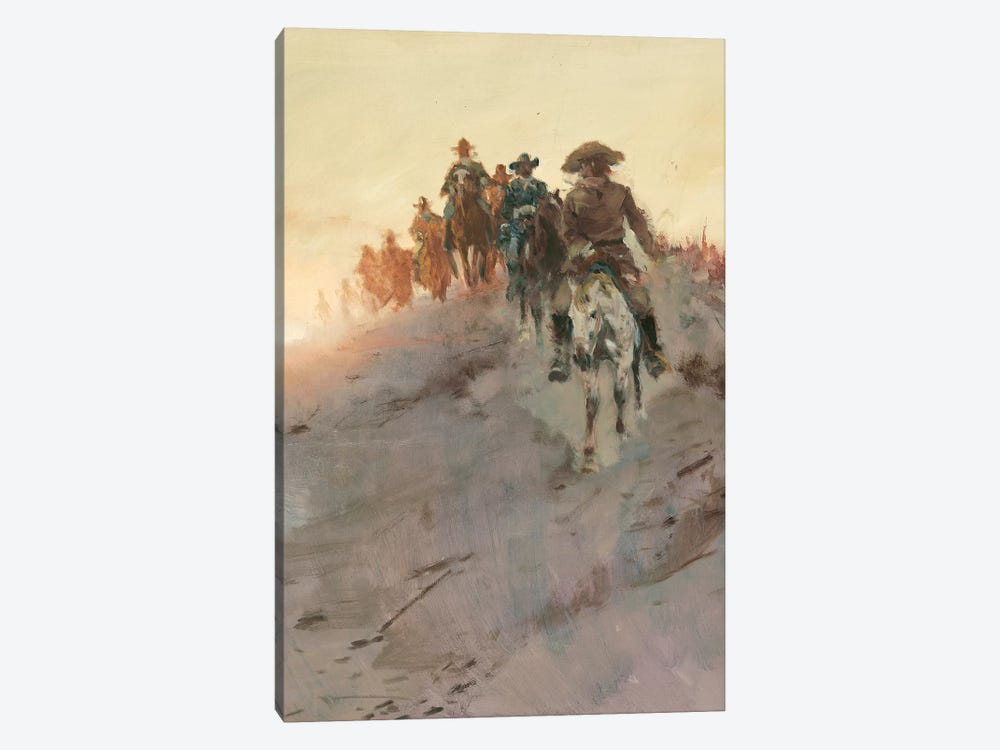 Posse II by Ernest Chiriacka 1-piece Canvas Artwork
