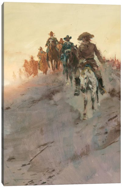 Posse II Canvas Art Print
