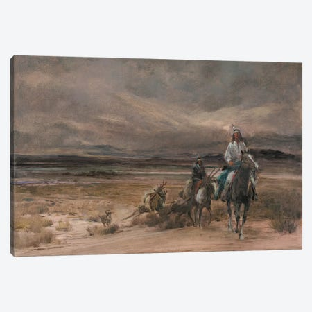 Riders In The Storm Canvas Print #CKA51} by Ernest Chiriacka Canvas Art