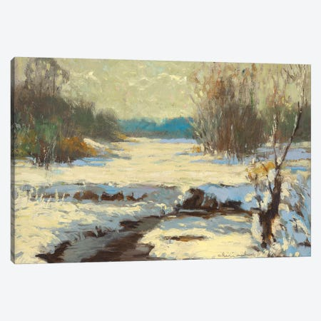 River Pass Canvas Print #CKA52} by Ernest Chiriacka Canvas Artwork