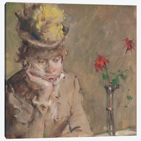 Sad Girl Canvas Print #CKA53} by Ernest Chiriacka Canvas Artwork