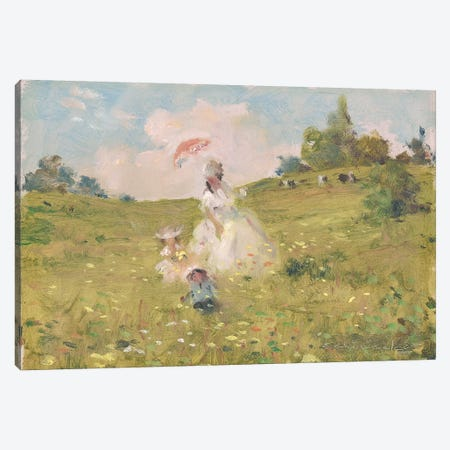 Summer Stroll Canvas Print #CKA59} by Ernest Chiriacka Canvas Wall Art