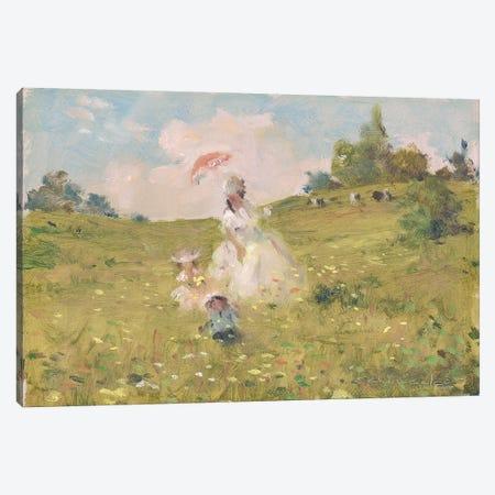 Summer Stroll Canvas Print #CKA59} by Ernest Chiriacka Canvas Wall Art