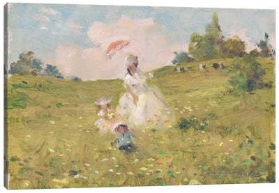 Summer Stroll Canvas Art Print