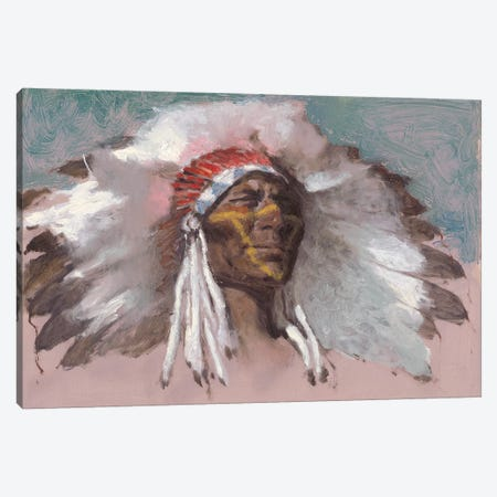 The Chief Canvas Print #CKA63} by Ernest Chiriacka Art Print